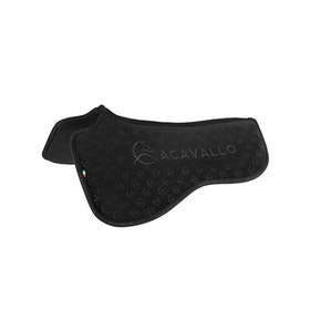 Acavallo Louvre Spine Free Silicone Memory Half Dressyr Black full
