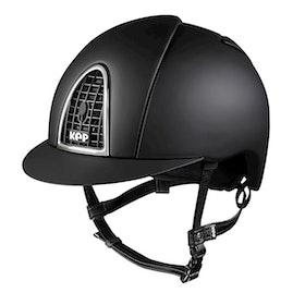 Kep Cromo textile black. Inkl liner.