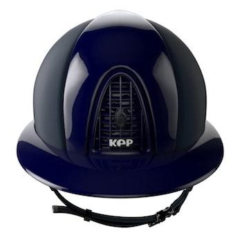 KEP Cromo Texile Blå Polish Polo  Front svart