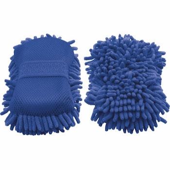 HG Mikrofibersvamp blå