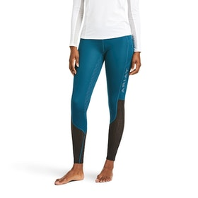 Ariat Eos ridtights full grip blue opal.