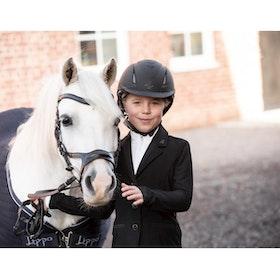 Horselife Kavaj Abrienne mesh junior svart