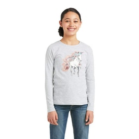 Ariat My Unicorn T-Shirt grå
