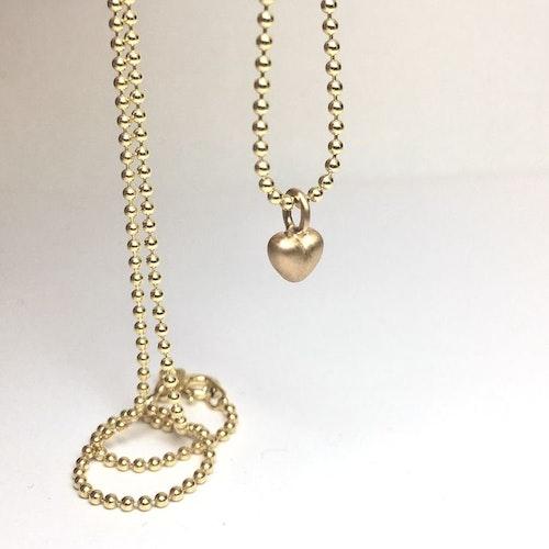 Tiny heart i guld