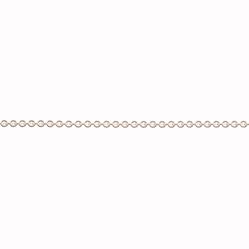 Ankarkedja vitguld 0,8 mm