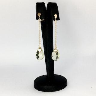 Art Deco mini shoulder dusters