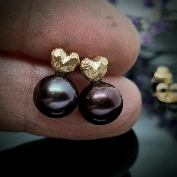Tiny Heart & Black Pearl