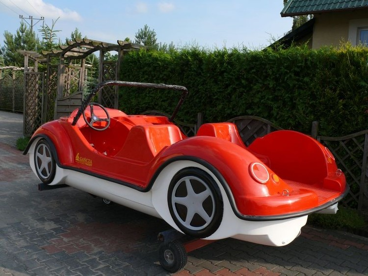 Pedalbåt Beetle