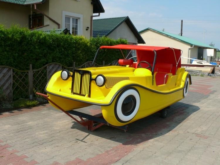 Pedalbåt Retro