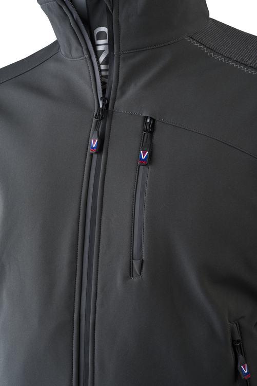 Vennvind softshell jakke for menn, J012