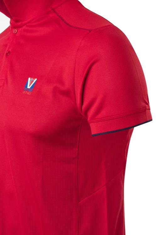 Vennvind tekniske poloskjorte for menn, X04