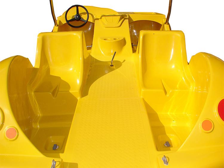 Pedalbåt Cabrio