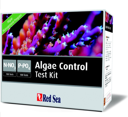 Red Sea Test Kit Algae Control, N03/PO4