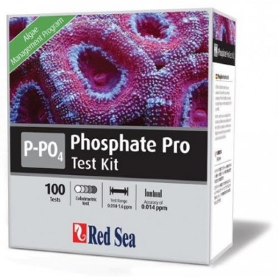 Red Sea Test Kit Phosphate,  PO4