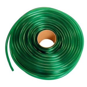 plastslang grön  1 meter