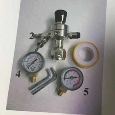 D&D manometer till koldioxid