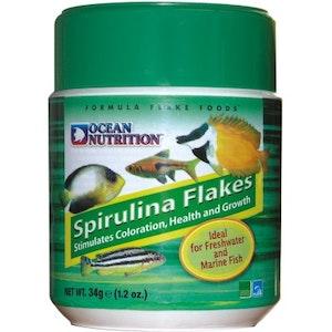 Ocean Nutrition Spirulina Flakes, 34 g
