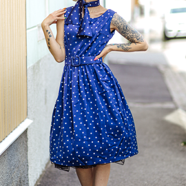 Den prickiga klänningen