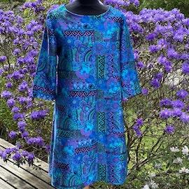 Hippie medelhavsblå/lila