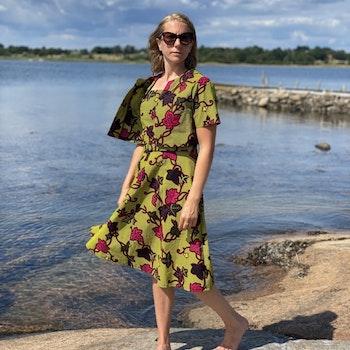 Solklänning med bolero