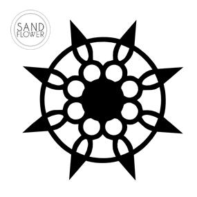 Textildekoration - Blomsterstjärna - 11