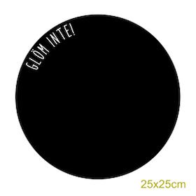 Griffelvinyl - Glöm inte (vinyl som griffeltavla)