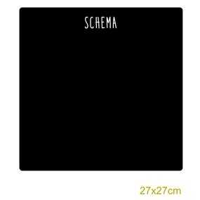 Griffelvinyl - schema  (vinyl som griffeltavla)
