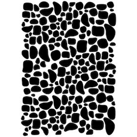 Vinyldekoration - droppstenar / fläckar