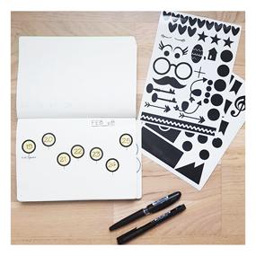 Märken - för Bullet Journal & Kalender