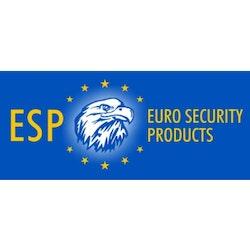 ESP ändstycke med ESP loggan