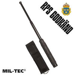 """MIL-TEC Teleskopbatong 26"""" i stål inkl. hölster (RPS godkänd)"""