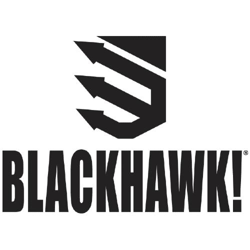 Blackhawk Leather Dual Mag Pouch - Single Stack Magazine - Black
