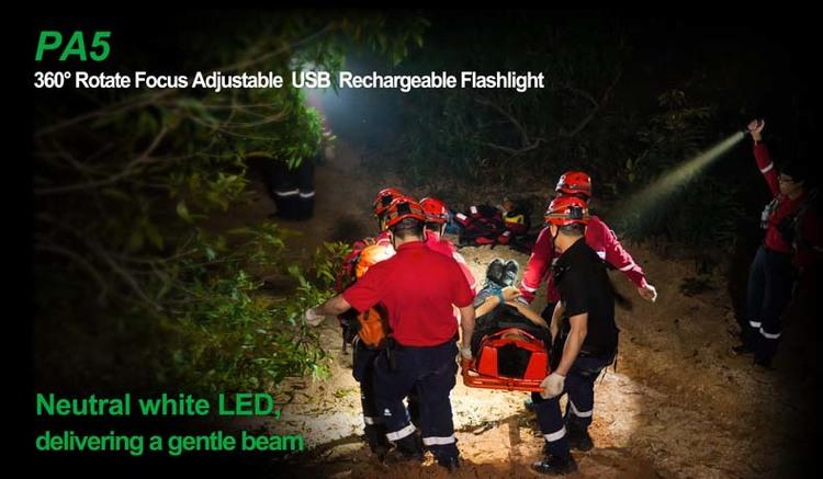 NEXTORCH PA5 Tactical Flashlight 660 Lumens