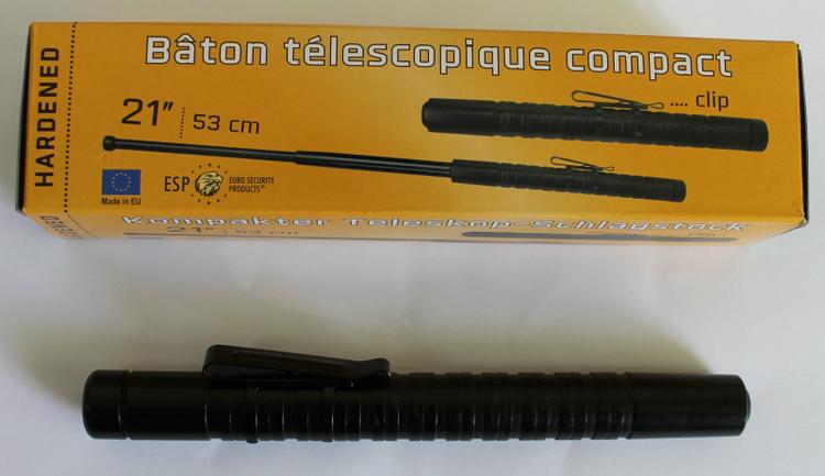 "ESP Compact Undercover 21"" Polis Teleskopbatong"