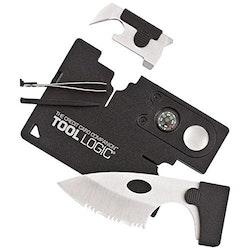 TOOL LOGIC Credit Card Companion With Lens/Compass