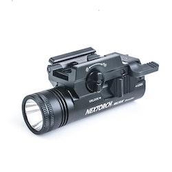 NEXTORCH WL10X Universal Handgun Light - Vapenlampa 230LM