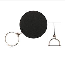 SBA Metall jojo nyckelhållare - med stålwire