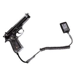 Blackhawk Tactical Pistol Lanyard - Coiled Black