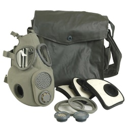 MIL-TEC by STURM M10 Gasmask med filter och väska