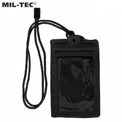 MIL-TEC ID Card Case - Black