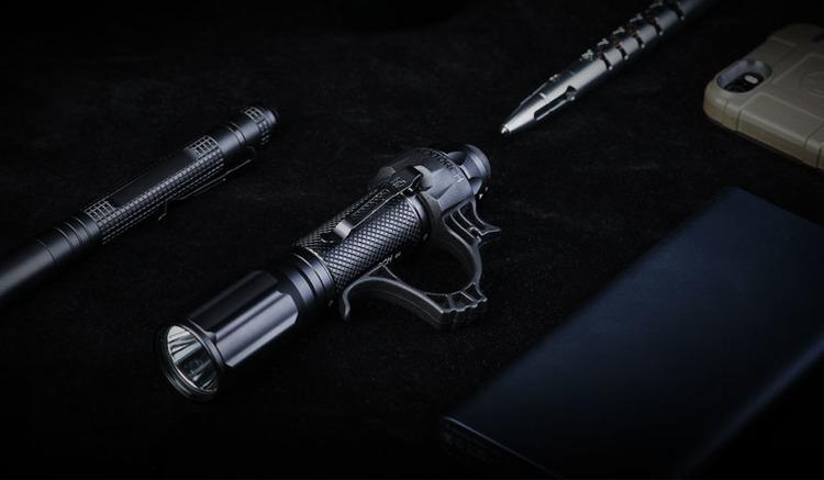 NEXTORCH Black Flashlight Ring for TA30 etc.