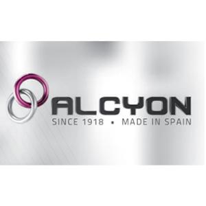 ALCYON RPS Handfängsel (Dubbla lås)