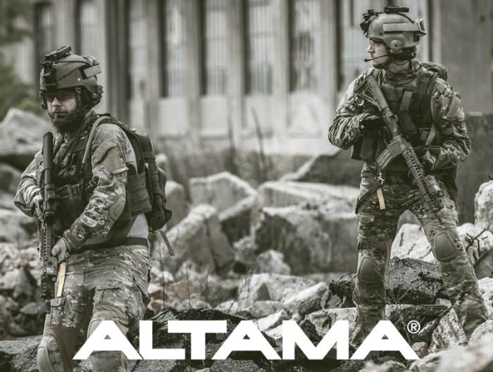 """Altama Vengeance SR 8"""" Side-Zip Black"""