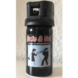 SBA Safe & Go 40ml Försvarsspray