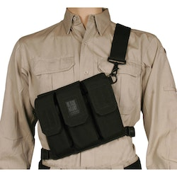 Blackhawk SOS M-16 Magazine Chest Pouch - Black