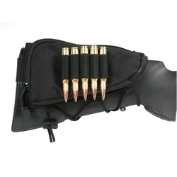 Blackhawk Ammo Cheek Pad, Rifle, Holds 5 bullets - Black