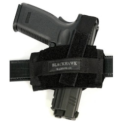 Blackhawk Ambidextrous Flat Belt Holster - Black