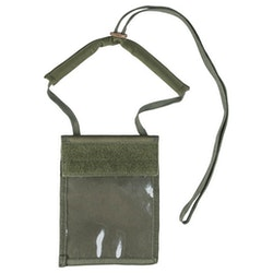 MIL-TEC by STURM NECK WALLET - OD Green
