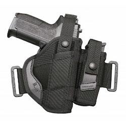 GK STRYKER Pistolhölster med magasinficka