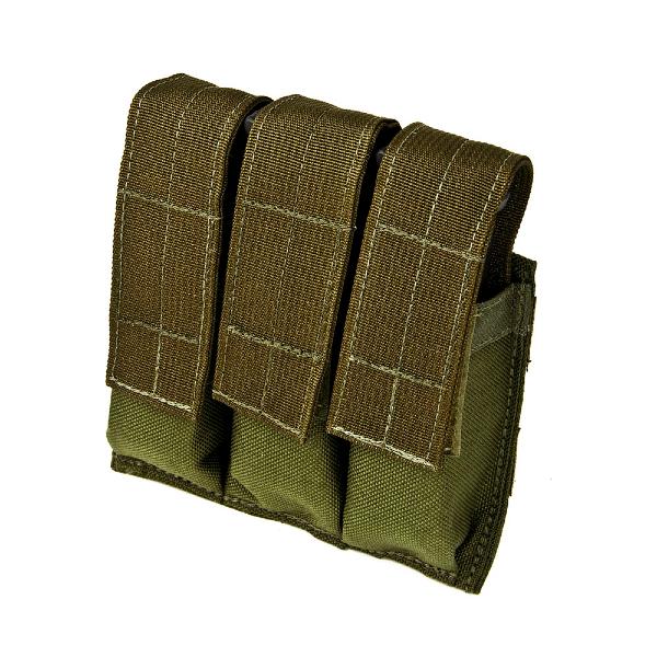 Tactical Tailor Triple Pistol Mag Pouch - Flera färger